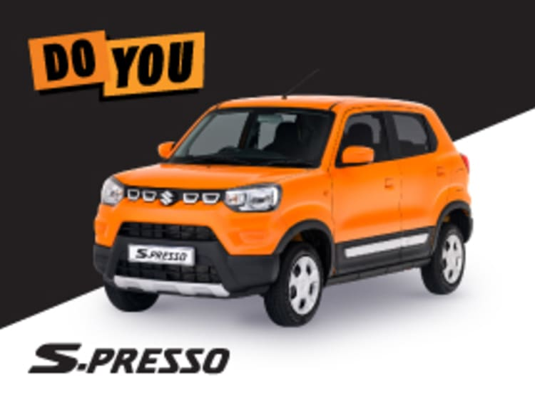 Suzuki S-Presso GL+ Manual - NTT Motor Group - Cars for Sale in South Africa