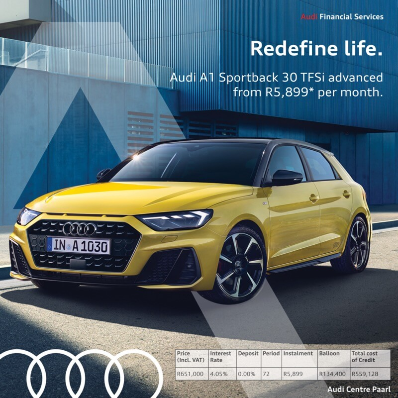 Audi A1 Sportback 30 TFSI S Tronic - NTT Motor Group - Cars for Sale in South Africa